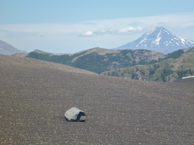 View of Llaima volcano