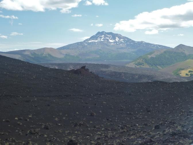 Tolhuaca volcano