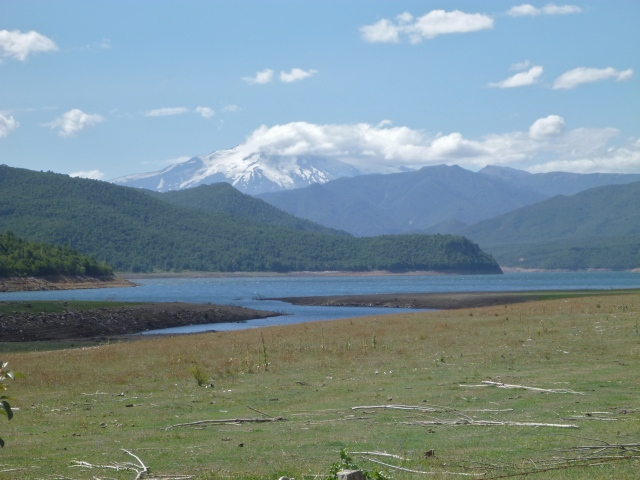 Ralco lake near Casa Loico