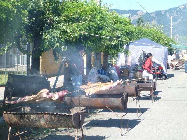 Fiesta del asado del chivo, Lonquimay